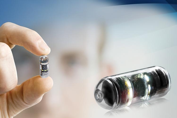 Innovatie: dunne darm-videocapsule van de laatste generatie met 360°-beelden